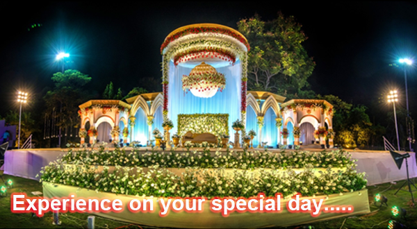 Experience on your special day.....