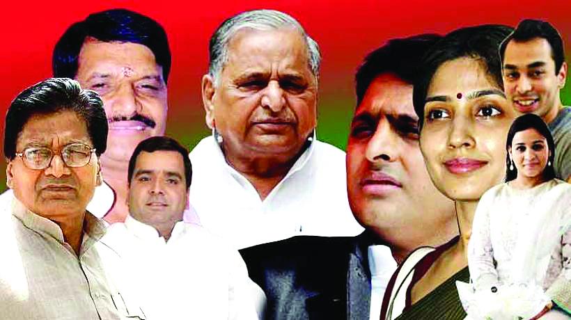 Parikshit Joshi Article - Mulayam singh yadav family